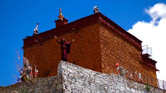 Ngắm những hình ảnh về ngôi chùa độc đáo ở Tây Tạng ảnh 8