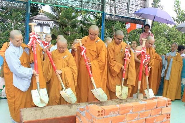 Đồng Tháp: Lễ khởi công xây dựng ngôi đại hùng bảo điện chùa Quan Âm ảnh 3