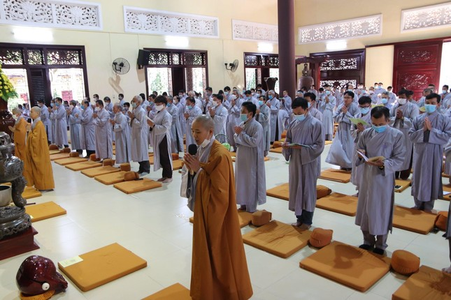 Khai pháp khóa tu tại thiền viện Trúc Lâm Trí Đức Ni ảnh 1
