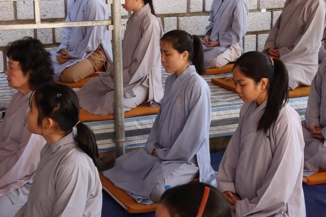 Khai pháp khóa tu tại thiền viện Trúc Lâm Trí Đức Ni ảnh 2