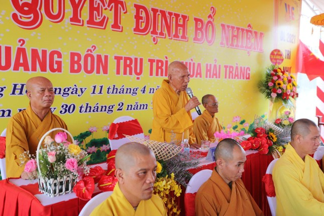 Phú Yên: Bổ nhiệm trụ trì chùa Hải Tràng ảnh 2