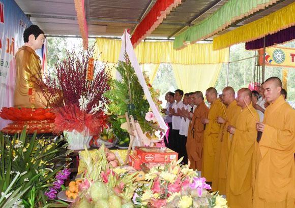 Chùa Chân Tiên (Hà Tĩnh) tổ chức lễ hội truyền thống ảnh 1