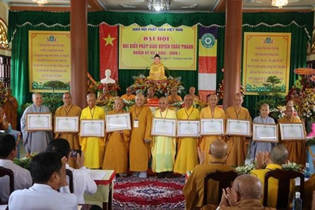 Bến Tre: Thượng tọa Thích Thanh Mẫn làm Trưởng ban Trị sự huyện Châu Thành ảnh 3