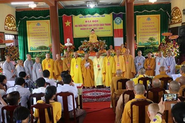 Bến Tre: Thượng tọa Thích Thanh Mẫn làm Trưởng ban Trị sự huyện Châu Thành ảnh 4