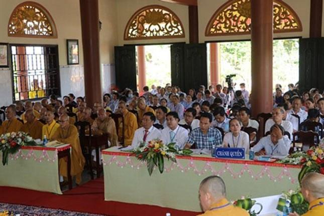 Bến Tre: Thượng tọa Thích Thanh Mẫn làm Trưởng ban Trị sự huyện Châu Thành ảnh 2