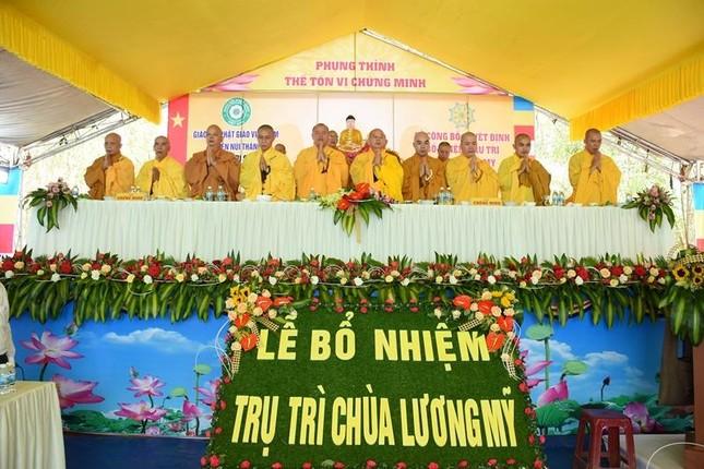 Quảng Nam: Bổ nhiệm Sư cô Thích nữ Đồng Hiếu làm trụ trì chùa Lương Mỹ ảnh 1