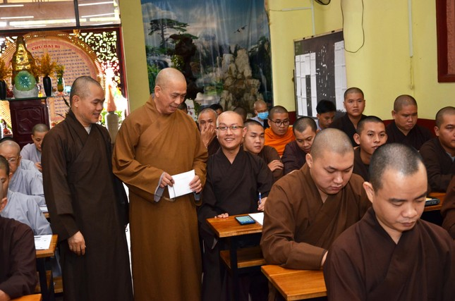 Ban Trị sự GHPGVN quận Bình Thạnh tập huấn về hành chánh điện tử cho Tăng Ni ảnh 3