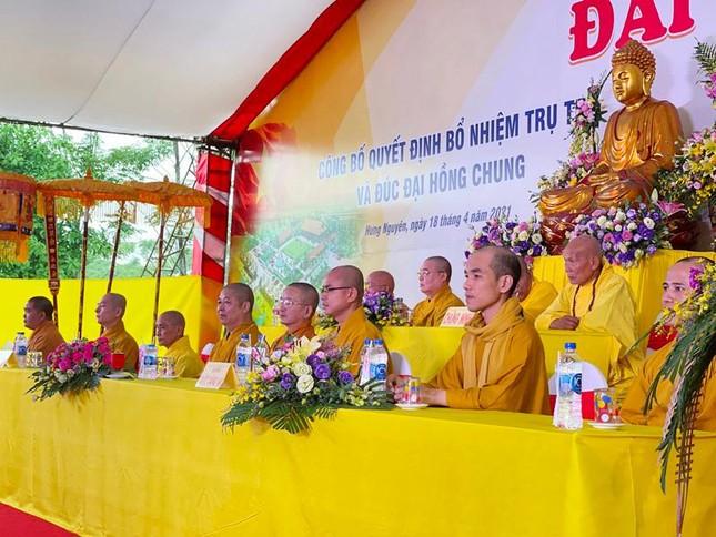 Nghệ An: Bổ nhiệm Đại đức Thích Đồng Phát làm trụ trì chùa Hưng Khánh ảnh 1