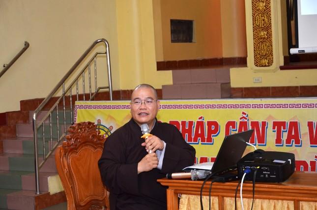 Ban Trị sự GHPGVN quận Bình Thạnh tập huấn về hành chánh điện tử cho Tăng Ni ảnh 2
