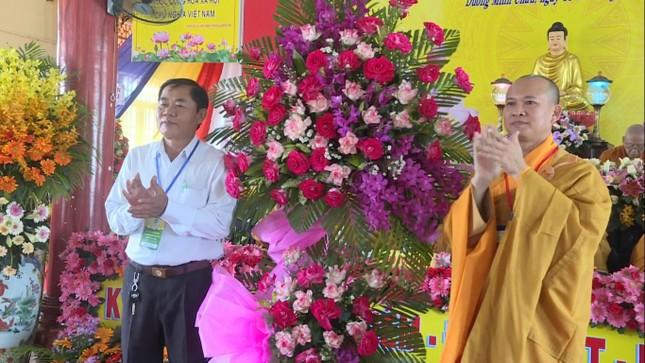 Tây Ninh: Đại hội đại biểu Phật giáo huyện Dương Minh Châu lần VII, nhiệm kỳ 2021-2026 ảnh 1