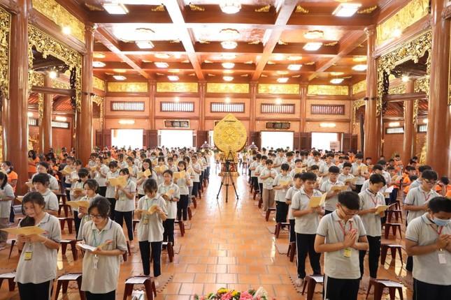 Chùa Thiên Quang tổ chức khóa tu La Hầu La dành cho thiếu nhi ảnh 1