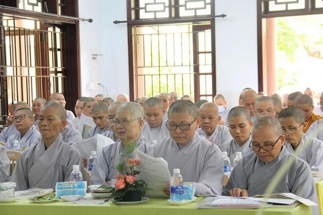 Phân ban Ni giới Phật giáo tỉnh Quảng Nam tổ chức hội nghị thường niên ảnh 2