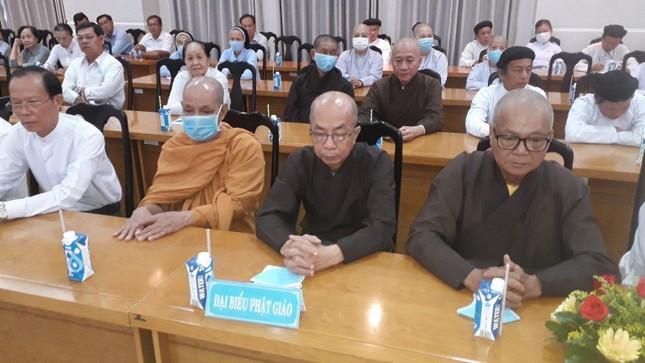 Bến Tre: Họp mặt đại biểu tôn giáo - dân tộc năm 2021 ảnh 2