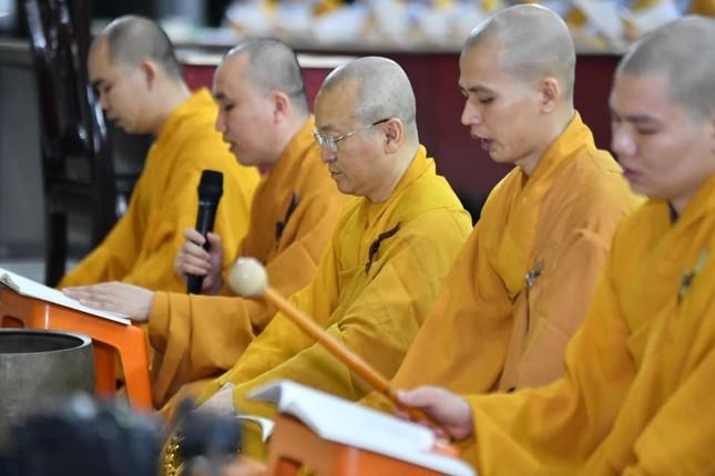Học viện Phật giáo VN tại TP.HCM lễ tưởng niệm Đại lão Hòa thượng Thích Thiện Duyên ảnh 1