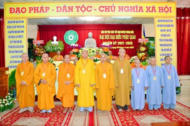 Cần Thơ: Đại đức Thích Thiện Hữu làm Trưởng ban Trị sự Phật giáo huyện Phong Điền nhiệm kỳ 2021-2026 ảnh 5