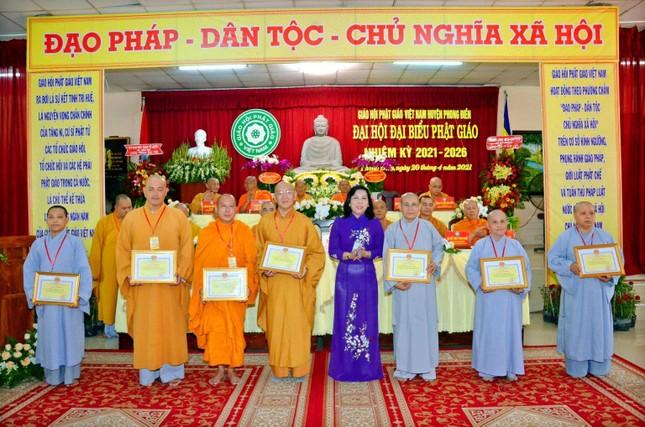 Cần Thơ: Đại đức Thích Thiện Hữu làm Trưởng ban Trị sự Phật giáo huyện Phong Điền nhiệm kỳ 2021-2026 ảnh 4