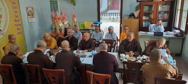 Ninh Thuận: Triển khai công tác Đại lễ Phật đản và An cư kiết hạ Phật lịch 2565 ảnh 1
