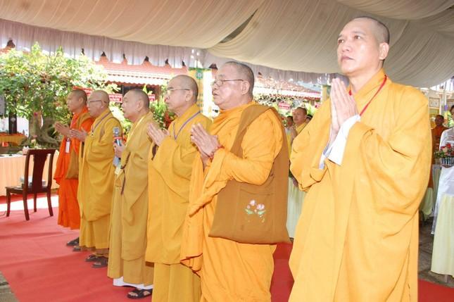 Thượng tọa Thích Chơn Lý tái nhiệm chức Trưởng ban Trị sự Phật giáo thị xã Bình Long (2021-2026) ảnh 1