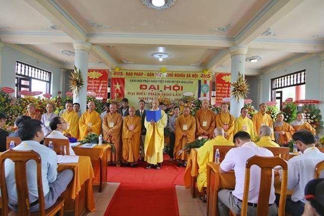 Lâm Đồng: Đại đức Thích Đồng Văn tái nhiệm chức Trưởng ban Trị sự Phật giáo huyện Bảo Lâm ảnh 3