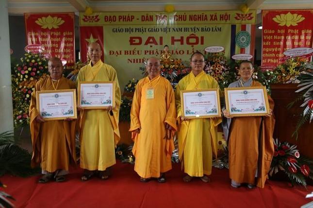 Lâm Đồng: Đại đức Thích Đồng Văn tái nhiệm chức Trưởng ban Trị sự Phật giáo huyện Bảo Lâm ảnh 2
