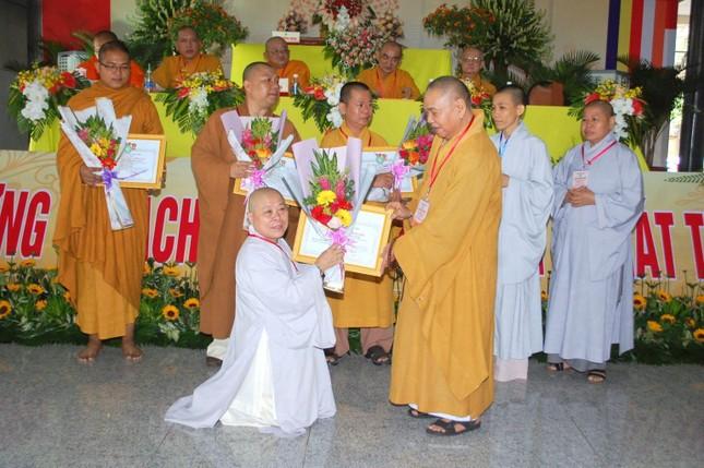 Bình Phước: Thượng tọa Thích Tĩnh Cường tiếp tục làm Trưởng ban Trị sự GHPGVN huyện Chơn Thành ảnh 2