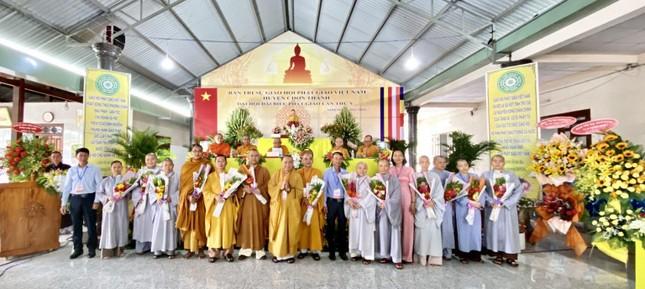 Bình Phước: Thượng tọa Thích Tĩnh Cường tiếp tục làm Trưởng ban Trị sự GHPGVN huyện Chơn Thành ảnh 3