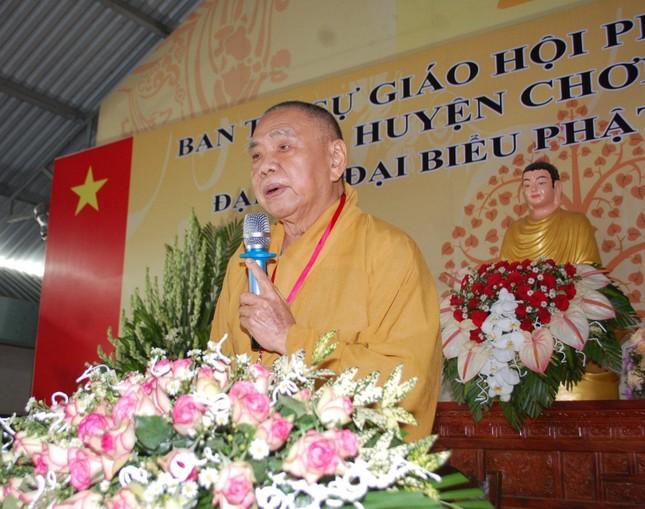 Bình Phước: Thượng tọa Thích Tĩnh Cường tiếp tục làm Trưởng ban Trị sự GHPGVN huyện Chơn Thành ảnh 4