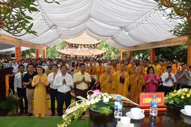 Phú Thọ: Lễ động thổ trùng tu cụm di tích lịch sử cấp quốc gia chùa Phổ Quang ảnh 1