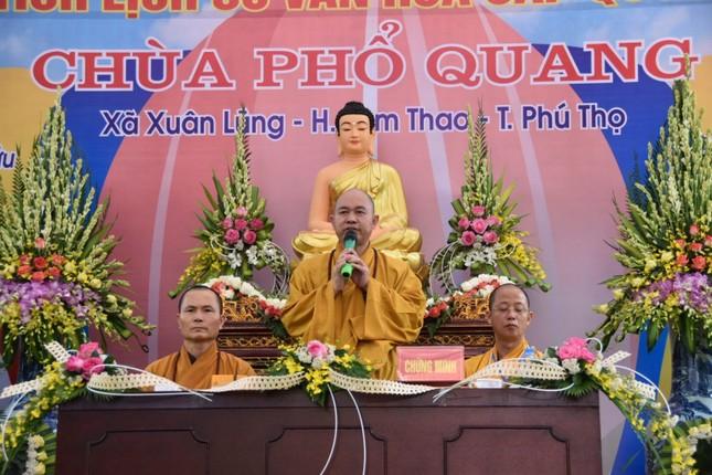 Phú Thọ: Lễ động thổ trùng tu cụm di tích lịch sử cấp quốc gia chùa Phổ Quang ảnh 2