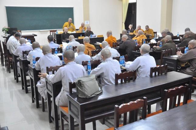 Ban Trị sự Phật giáo tỉnh Tiền Giang họp triển khai công tác Phật sự ảnh 3