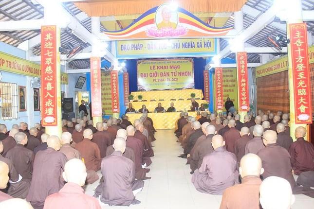 Đồng Tháp: Giới tử Tăng Ni nhập Giới đàn Từ Nhơn Phật lịch 2564 ảnh 1