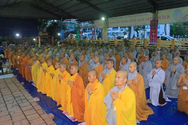 Đồng Tháp: Giới tử Tăng Ni nhập Giới đàn Từ Nhơn Phật lịch 2564 ảnh 3