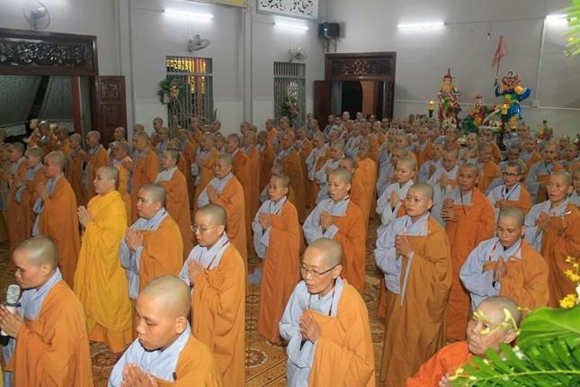 Đồng Tháp: Giới tử Tăng Ni nhập Giới đàn Từ Nhơn Phật lịch 2564 ảnh 4