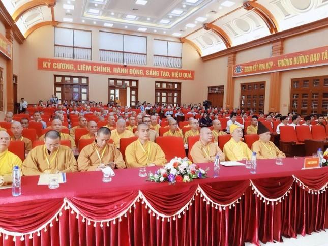 Thượng tọa Thích Thiện Hưởng tiếp tục làm Trưởng ban Trị sự Phật giáo huyện Lý Nhân ảnh 1