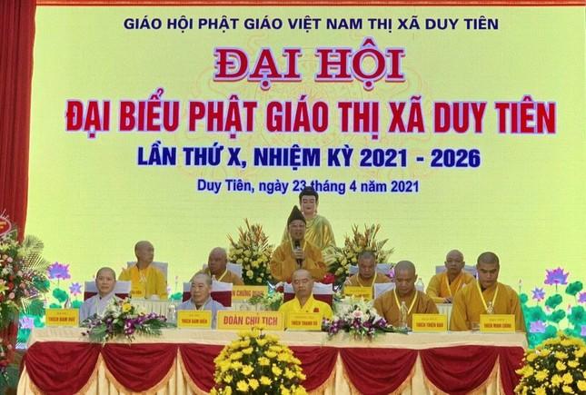 Hà Nam: Đại đức Thích Thiện Đạo làm Trưởng ban Trị sự Phật giáo thị xã Duy Tiên ảnh 3