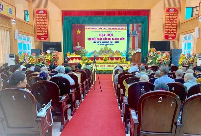 Hà Nam: Đại đức Thích Thiện Đạo làm Trưởng ban Trị sự Phật giáo thị xã Duy Tiên ảnh 1