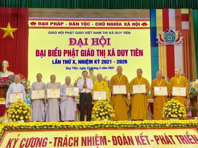 Hà Nam: Đại đức Thích Thiện Đạo làm Trưởng ban Trị sự Phật giáo thị xã Duy Tiên ảnh 2
