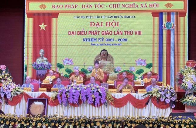Hà Nam: Đại đức Thích Thanh Thuận làm Trưởng ban Trị sự Phật giáo huyện Bình Lục ảnh 2