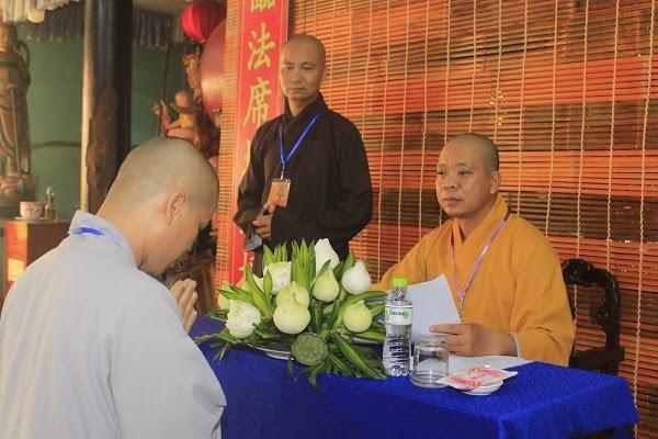 602 giới tử bước vào khảo thí của Đại giới đàn Từ Nhơn Phật lịch 2564 ảnh 1