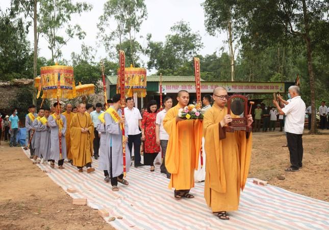 Nghệ An: Chùa Đạt động thổ xây dựng Tam bảo ảnh 1