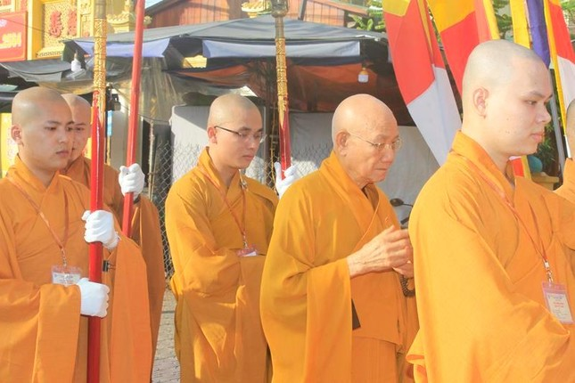 Hòa thượng Thích Minh Thông thuyết giảng Giới luật tại Đại giới đàn Từ Nhơn ảnh 4