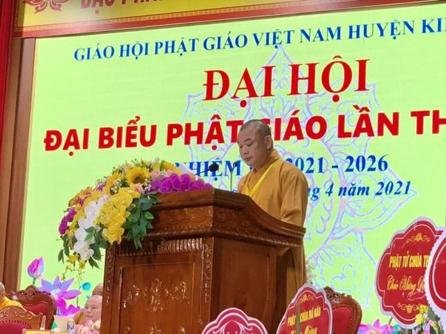 Hà Nam: Thượng tọa Thích Bản Lượng tiếp tục làm Trưởng ban Trị sự Phật giáo huyện Kim Bảng ảnh 2
