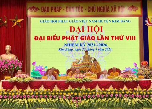 Hà Nam: Thượng tọa Thích Bản Lượng tiếp tục làm Trưởng ban Trị sự Phật giáo huyện Kim Bảng ảnh 4