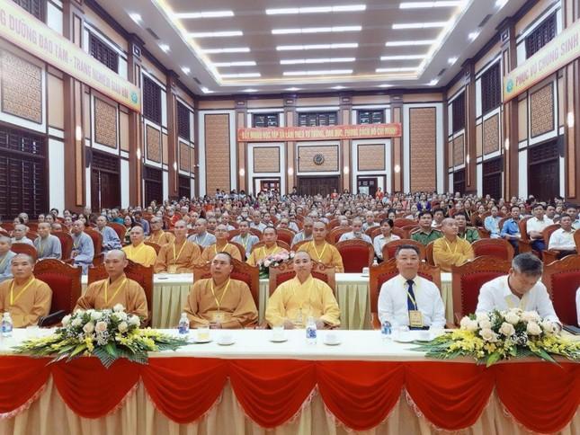 Hà Nam: Thượng tọa Thích Bản Lượng tiếp tục làm Trưởng ban Trị sự Phật giáo huyện Kim Bảng ảnh 1