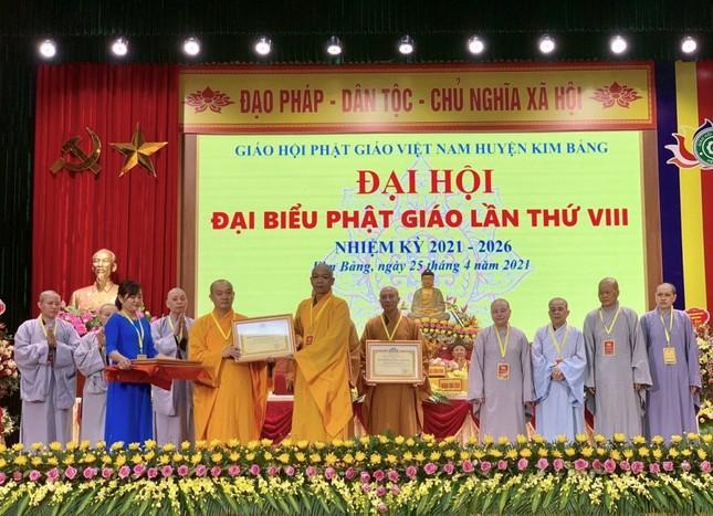 Hà Nam: Thượng tọa Thích Bản Lượng tiếp tục làm Trưởng ban Trị sự Phật giáo huyện Kim Bảng ảnh 3