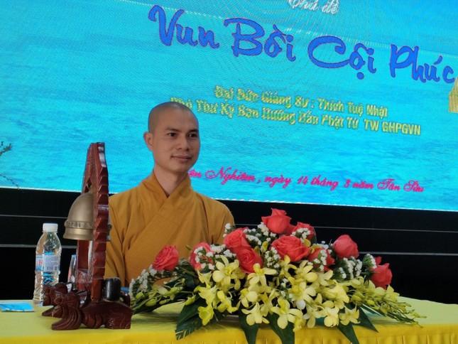 """Đồng Nai: Khóa tu """"Một ngày phúc lạc"""" kỳ thứ 20 tại chùa Trúc Lâm Viên Nghiêm ảnh 2"""