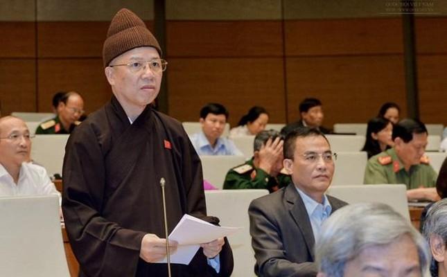 Hòa thượng Thích Thanh Quyết ứng cử đại biểu Quốc hội tại Quảng Ninh ảnh 1