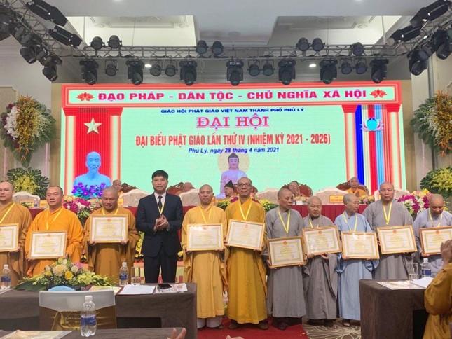 Hà Nam: Đại đức Thích Thanh Quang làm Trưởng ban Trị sự Phật giáo TP.Phủ Lý ảnh 2