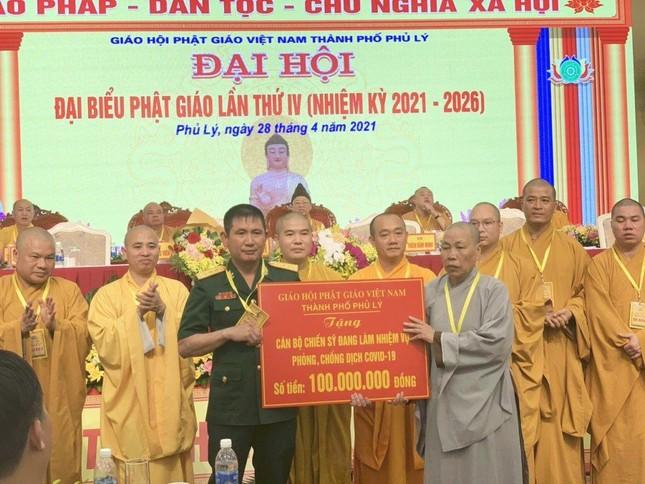 Hà Nam: Đại đức Thích Thanh Quang làm Trưởng ban Trị sự Phật giáo TP.Phủ Lý ảnh 4