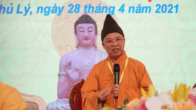 Hà Nam: Đại đức Thích Thanh Quang làm Trưởng ban Trị sự Phật giáo TP.Phủ Lý ảnh 3